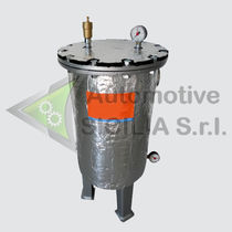 Drum separator / waste / vertical