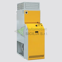 Stationary hot air generator / electric