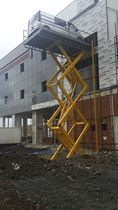 Scissor lift table / hydraulic / for heavy loads / stationary