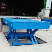 Scissor lift table / hydraulic / loading dock / stationary