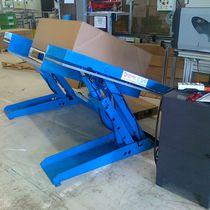 Scissor lift table / hydraulic / electric / tilting