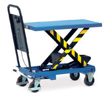 Scissor lift table / hydraulic / mobile