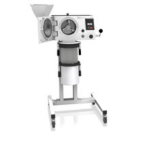 Cross beater mill / coarse powder / vertical / laboratory