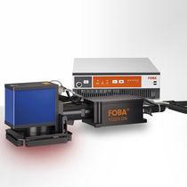 Marking laser / pulsed / fiber / rugged