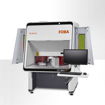Laser marking machine / automated / with rotary table