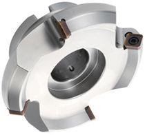 Shell-end milling cutter / insert / face