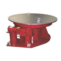 Horizontal turntable / for welding / motorized