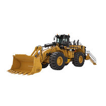 Wheel loader / articulated / large / mining