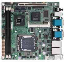 Mini-ITX motherboard / Intel® Core 2 Quad / Intel Q45 / DDR2 SDRAM
