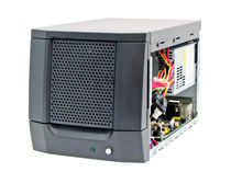 Compact chassis / wall-mounted / for mini-ITX motherboards / HDD mobile rack with Lock