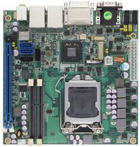 Mini-ITX motherboard / Intel® Core™ i series / Intel Q77 / DDR3 SDRAM