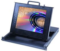 Industrial monitor / LCD / touch screen / 1024 x 768