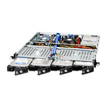 "19"" rack-mount chassis / 1U / compact / for harsh military environments"