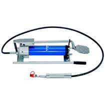 Positive-displacement pump / hydraulic / for fluids / foot-operated