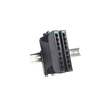 Managed ethernet switch / 8 ports / industrial