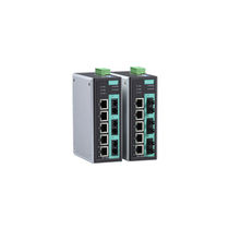 Managed ethernet switch / 8 ports / fiber optic