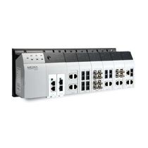 Managed network switch / industrial / layer 3 / gigabit