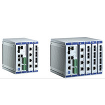 Managed network switch / industrial / for harsh environments / PTPv2