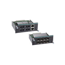 Managed network switch / serial / fiber optic / 8 ports