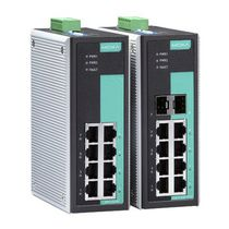 Unmanaged network switch / industrial / fiber optic / 8 ports