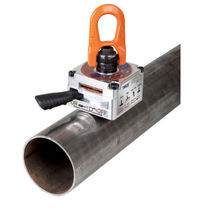 Permanent lifting magnet / for pipes / manual