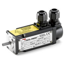 AC servomotor / brushless / 4-pole / permanent magnet