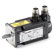 AC electric servo-motor / brushless / 4-pole / permanent magnet