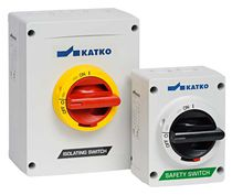 Selector knob switch / multipolar / enclosed / safety
