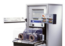 Multi-parameter test bench / for electric motor windings / automatic / mechanical