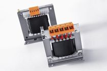 Power auto-transformer / cast resin / vacuum impregnation / for printed circuit boards