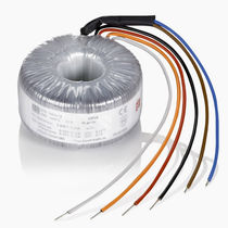 Isolation transformer / encapsulated / toroidal / through-hole