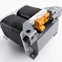 Isolation transformer / cast resin / vacuum impregnation / through-hole