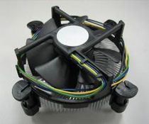 Heat sink with ventilator