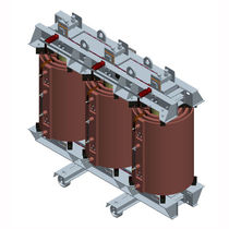 Power transformer / cast resin / earthing / coupling
