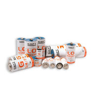 Lithium battery / cylindrical / primary