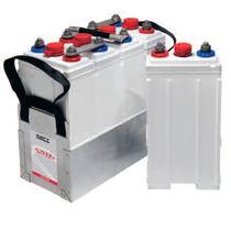 Ni-Cd battery / sintered