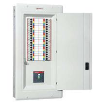 Circuit breaker distribution panel