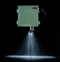 Airless grease spray system
