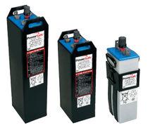 Liquid electrolyte battery / power / tubular / for solar installations