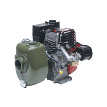 Clear water pump / with combustion engine / centrifugal / self-priming