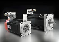 AC servomotor / brushless / compact / permanent magnet
