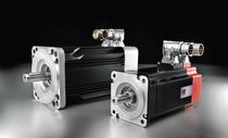 AC servomotor / brushless / permanent magnet / compact