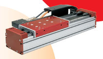 Brushless linear motor / synchronous / DC / iron-core