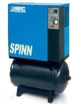 Air compressor / stationary / screw / lubricated