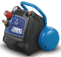 Air compressor / portable / piston / oil-free