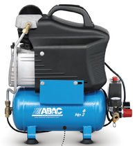 Air compressor / mobile / piston / lubricated