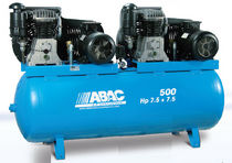 Air compressor / stationary / piston / lubricated