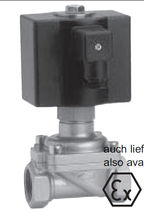 "2/2 way solenoid valve 1/2"" - 2"", 25 bar 