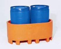 2 drum containment bund max. 1633 kg | SP series Bonar Plastics
