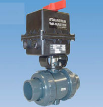 "2-way electric plastic ball valve 1/2"" - 3"" 